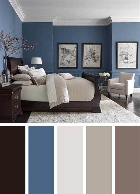 Bedroom Color Blue Combination by Best 25 Blue Paint Colors Ideas On Blue Room