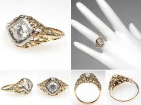 yellow gold wedding rings beautiful collections of vintage yellow gold wedding rings wedwebtalks