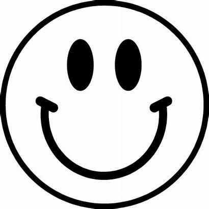Face Emoji Coloring Happy Pages Smiley Printable