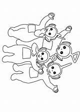Teletubbies Coloring Pages Coloriage Fun Heros Coloriages Tv Teletubbie Votes sketch template