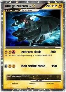 Pokémon omega zekrom 3 3 - zekrom dash 200 - My Pokemon Card