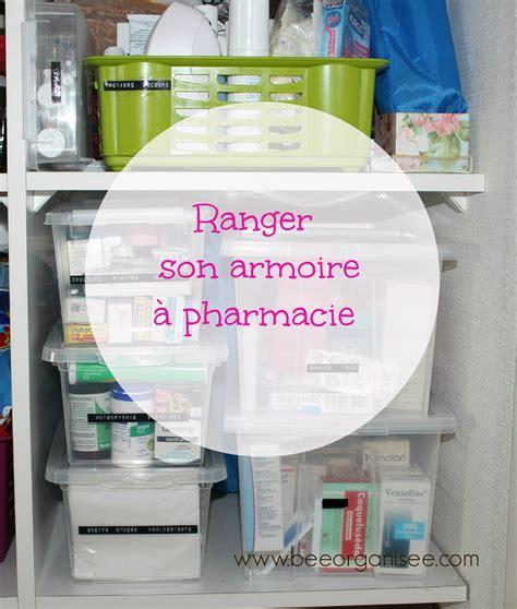 boite pour ranger les medicaments ranger armoire 224 pharmacie bee organis 233 e