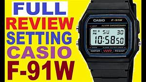 Review Casio F-91w Manual For Use