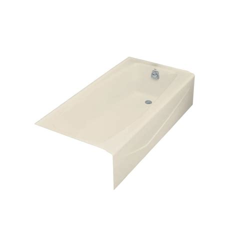 kohler villager bathtub drain kohler villager 5 ft right drain cast iron bathtub