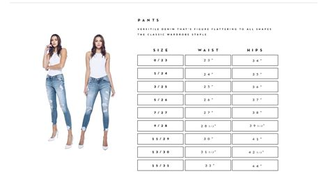 kancan usa sizing guide  pants bling  kylie