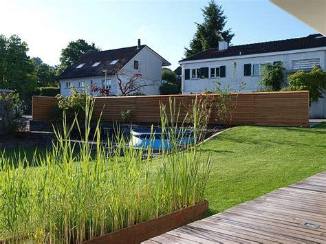 Effektiver Laermschutz Im Garten by Bilder Und Impressionen Www Sichtschutz Schallschutz Ch