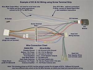 Pioneer Radio Harness Diagram