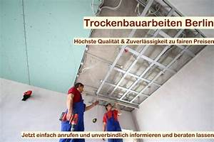 Knauf Decke Abhängen : trockenbau decke abh ngen trockenbau berlin ~ Orissabook.com Haus und Dekorationen