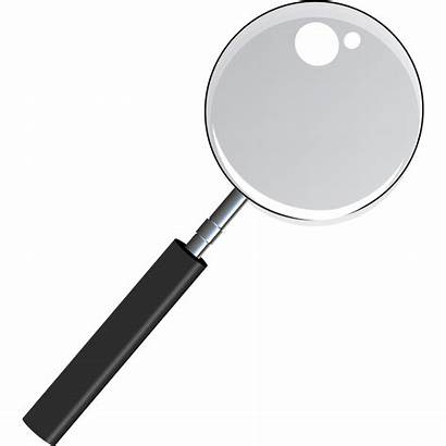 Magnifying Transparent Glass Clipart Magnifier Through Thru