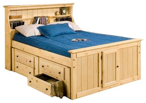 sleep and play usa lowell bookcase captain s bed