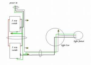 4 Way Switch Wiring Diagram Power Switch At First