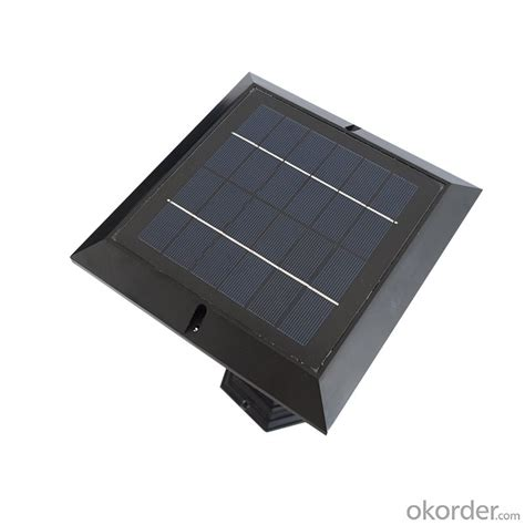 buy ul listed solar column light solar led fence light