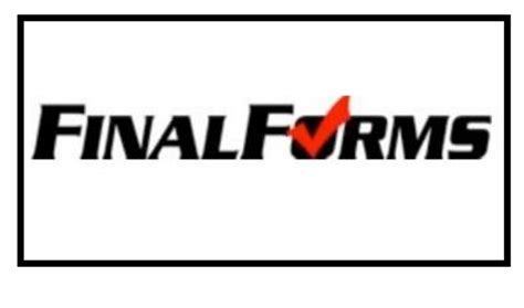 final forms sign up don t forget to sign up on final forms this is the home