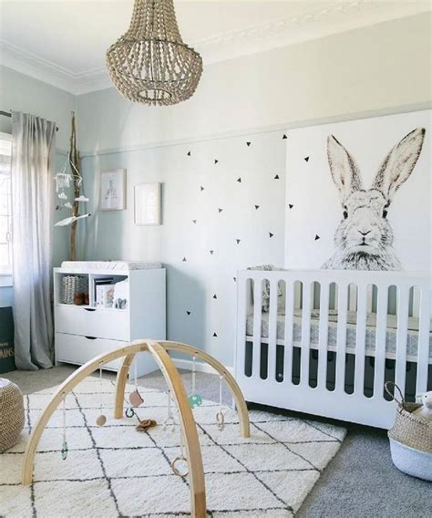 deco design chambre bebe déco chambre bébé fille et garçon en style scandinave pour