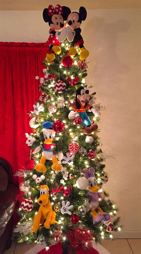 disney decorated christmas tree billingsblessingbagsorg