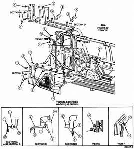 1995 E C  Left Rear Interior Panel  No