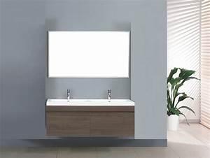 meuble salle de bain zen perso grand meuble salle de With meuble double vasque suspendu salle de bain