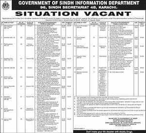 Information Department Government of Sindh Jobs 2015 Walk ...
