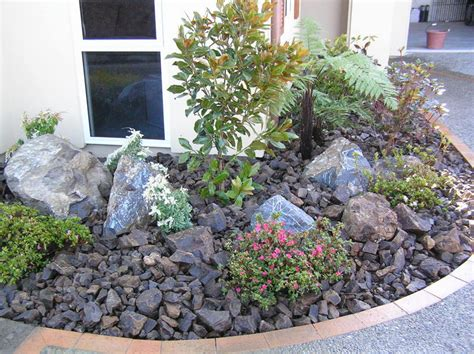 ideas for landscaping with rocks rock bed landscaping ideas 187 design and ideas