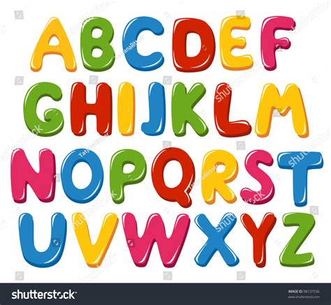 of all alphabet letters stock vector image 32655280 alphabet letters stock vector 98137556