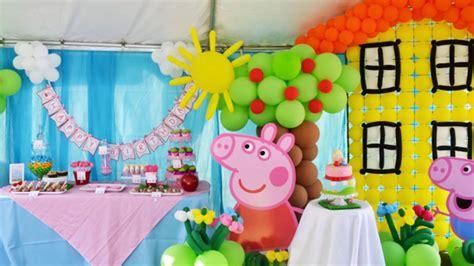 como hacer una pepa pig de globos peppa pig ideas de cumplea 241 os decoraciones y