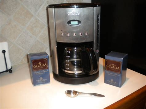 Deal: Gevalia Stainless Steel Coffeemaker, Stainless Steel Scoop and Coffee or Tea Products ONLY