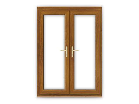 5ft golden oak upvc doors flying doors
