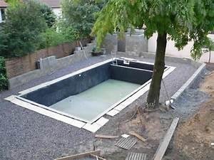 Piscine A Enterrer : piscine en kit a enterrer piscine kit facile montage kit ~ Zukunftsfamilie.com Idées de Décoration