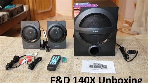 f d speaker f690 f d a140x 2 1 speakers unboxing review