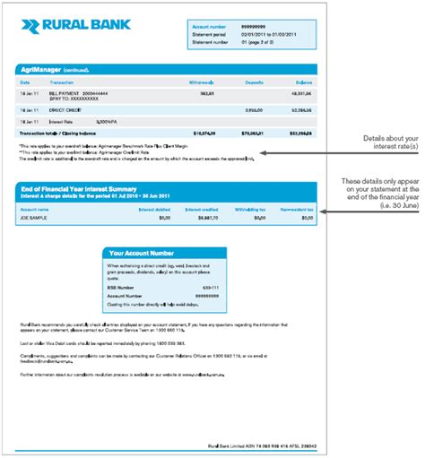 Blank Bank Statement Template Download Gallery Template