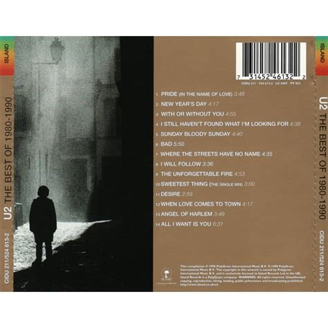 u2 the best of 1980 1990 the best of 1980 1990 by u2 cd with ny 212 ref 116526360