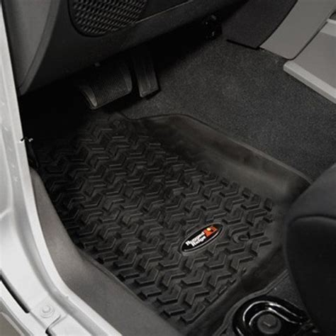 Rugged Ridge All Terrain Truck Floor Liners by Rugged Ridge All Terrain Front And Rear Floor Liners For