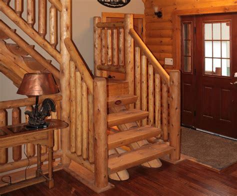 cedar log railing  armstrong creek company