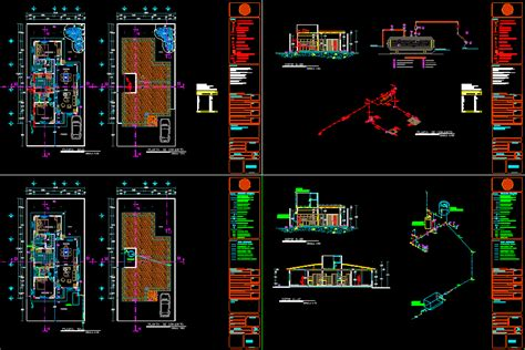 hydraulic installation  gas dwg block  autocad