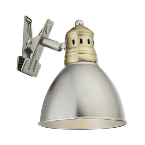 small clip on light nag4175 nagoya 1 light clip light antique chrome antique brass