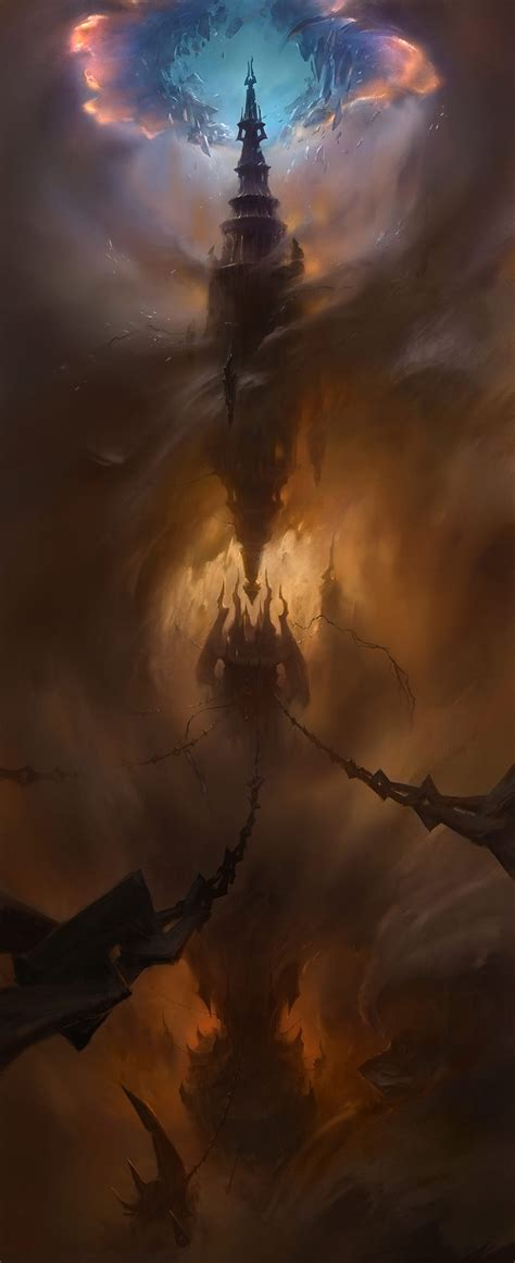 torghast wow tower damned warcraft concept guide