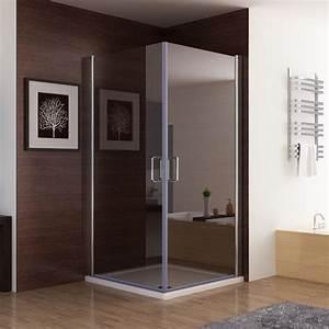 Badspiegel 80 X 80 : duschkabine duschabtrennung eckeinstieg doppel schiebet r 80x80 90x90 100x100 cm ~ Bigdaddyawards.com Haus und Dekorationen