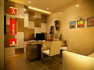 Modern office cabin interior design home interior designs for Interior design ideas for small office cabin