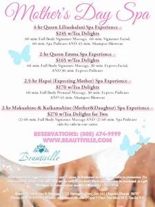 Mother's Day: 2-hr Mother & Daughter Spa Experience w/Tea ...