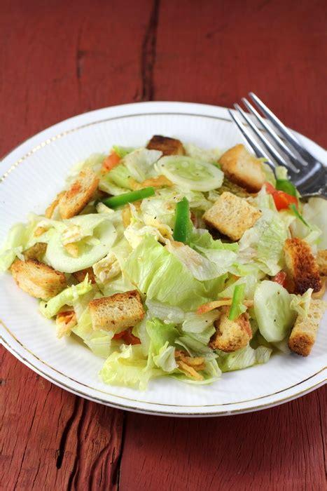lettuce salad vegetable salad recipes   healthy