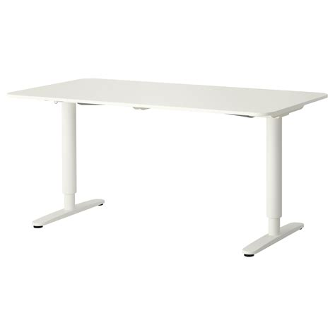ikea sit and stand desk bekant desk sit stand white 160x80 cm ikea