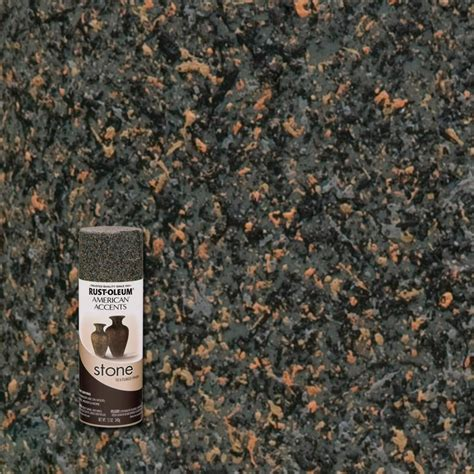 rust oleum american accents 12 oz creations granite textured finish spray paint
