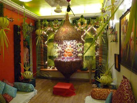 eco friendly decorations ideas decoration  ganpati