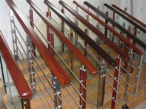 selling home interior products steel and wood railing china mainland balustrades