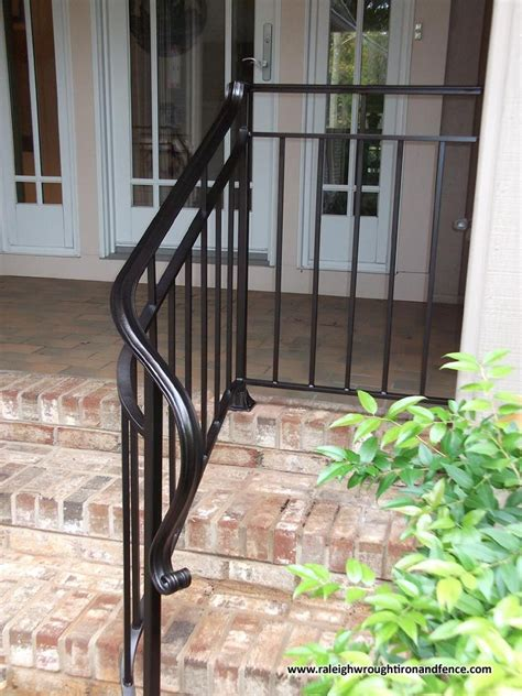 Metal railing & gates (138) sort by: Custom Wrought Iron Residential Railings Raleigh Wrought ...
