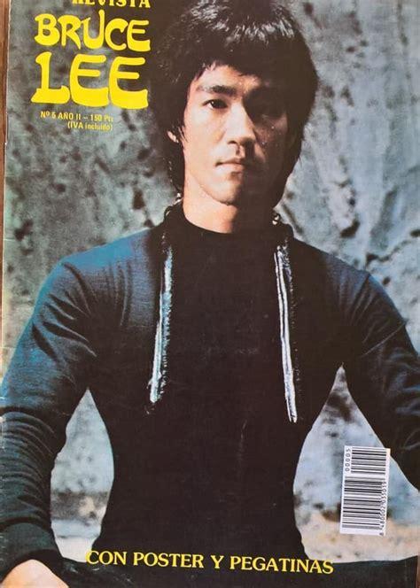 vintage bruce lee revista magazine issue