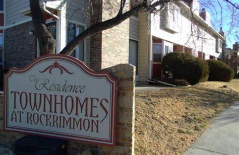 rockrimmon townhomes colorado springs