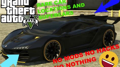 How To Find Rare Cars In Gta 5 Story
