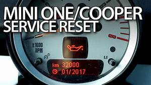 How To Reset Service Reminder In Mini One    Mini Cooper