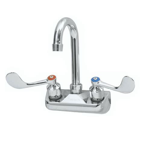 krowne commercial kitchen faucets krowne h 102 splash mount gooseneck faucet 4 quot centers